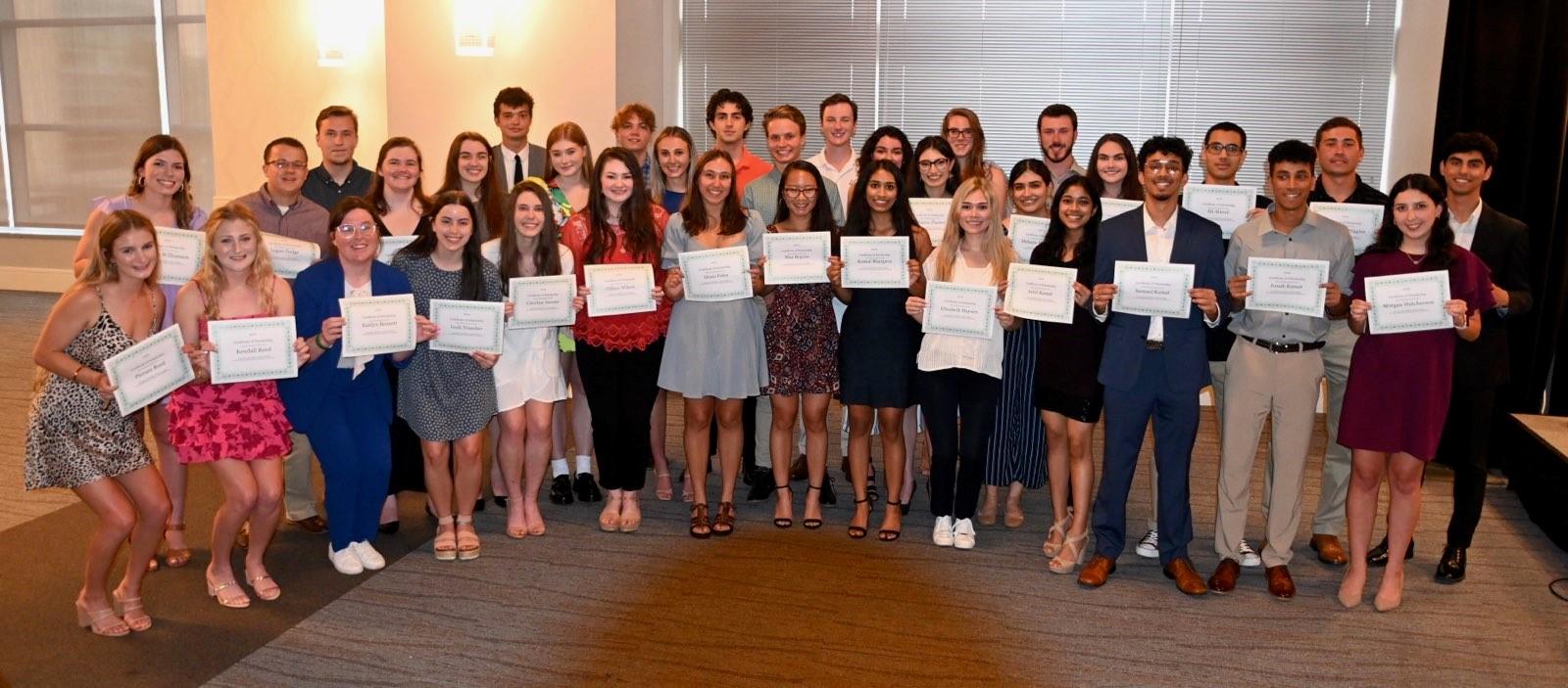 Houston Pipeliners 2021 Scholarship Recipients